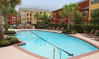 Pearland texas apartments featuring a refreshing swimming pool