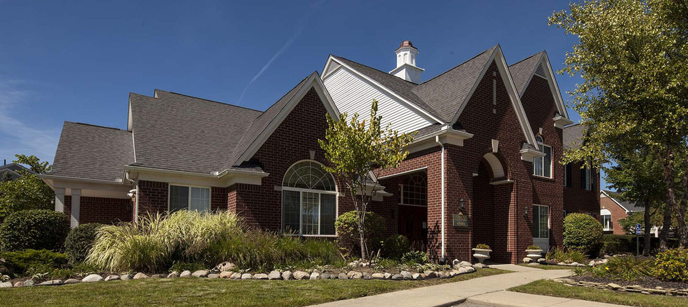 Canton michigan apartment homes exterior