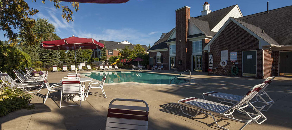 Canton michigan apartments swimming pool