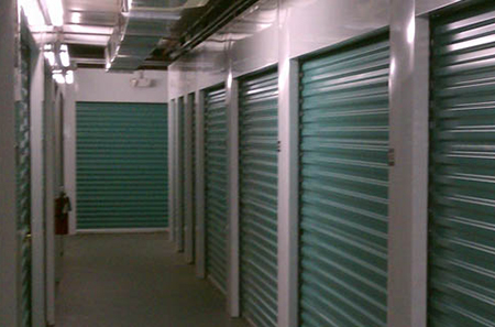 Edgewater self storage indoor units