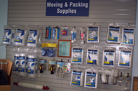 Orlando self storage moving and packing supplies