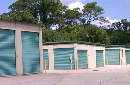 New smyrna beach self storage outside