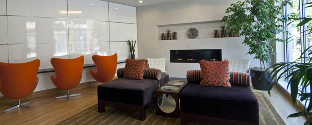Lounge area in apartments i