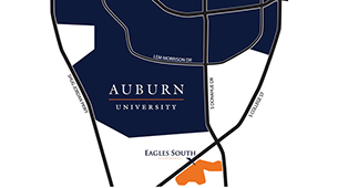 Learn more about the location at Eagles South Apartments