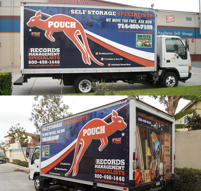 Pouch Self Storage and RV Moving Trucks for Rent in Southern California