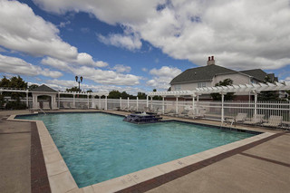 Sparkling pool at apartments in west bloomfield