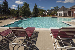 Relax pool commerce township apartments