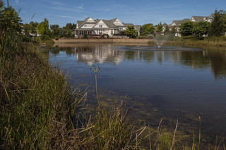 Canton apartment homes pond view