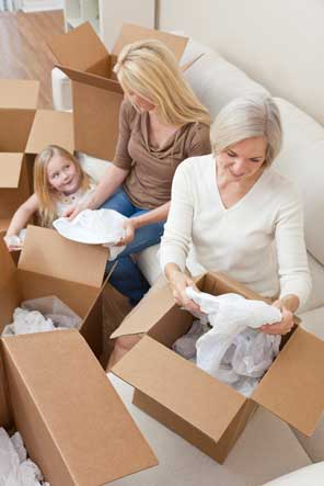 Tips on packing dishes and glassware from Chaparral Self Storage.