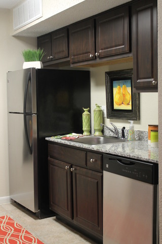 Apartments in conroe texas kitchen