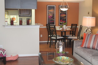 Apartments in conroe texas kitchen living room