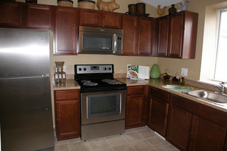 Stainless appliances at apartments