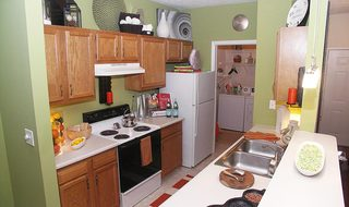 Kitchen inside apartments in Centerville OH