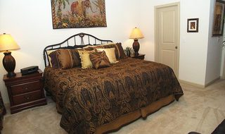 Modern bedrooms of our Pearland apartments