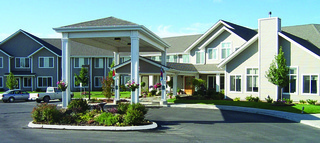 Senior living exterior in pullman