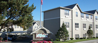 Senior living exterior in the dalles