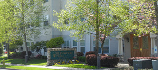 Entrance to vancouver senior living