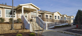 Oregon city senior living exterior