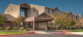 Senior living exterior in northglenn