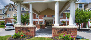 Senior living exterior in roanoke