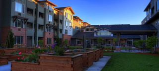 Courtyard at vancouver senior living communtiy