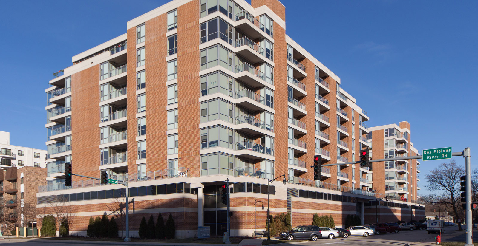 Apartments in Des Plaines are modern