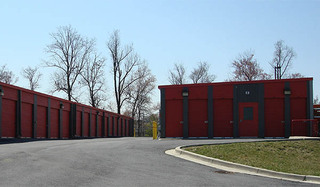 Laurel self storage unit exterior