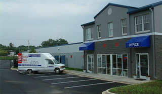 Exterior of walkersville self storage facility