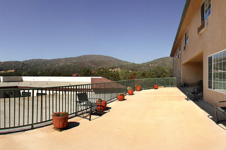 Large patio sonora senior living
