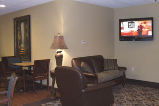 Sonora senior living enhanced care tv room