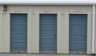 Unit exteriors for self storage facility in baltimore