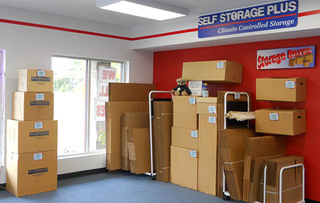 Baltimore self storage moving supplies