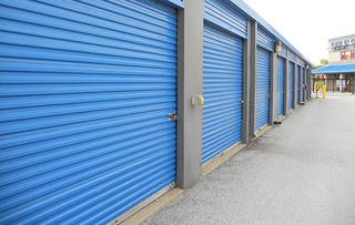 Self storage unit exterior found in baltimore