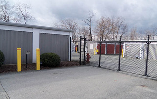 Rockville self storage security gate