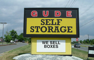 Self storage sign in rockville