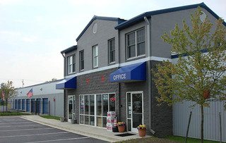 Self storage office in walkersville