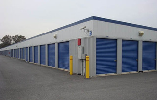 Walkersville self storage facility exterior