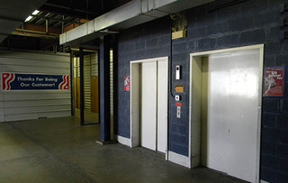 Self storage building interior in alexandria