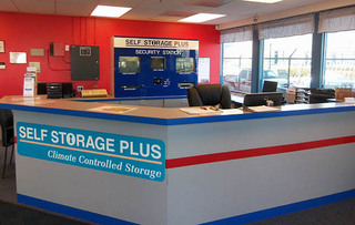 Office interior at arlington self storage