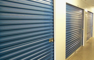Self storage unit exterior in arlington