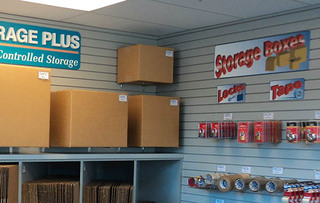 Woodbridge self storage supplies