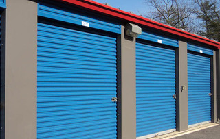 Woodbridge self storage unit exteriors