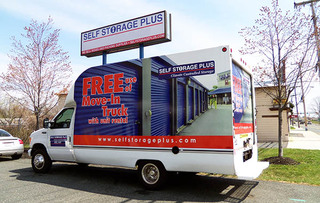 Bel air move in truck for self storage