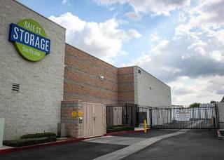 Buena park self storage units are gated