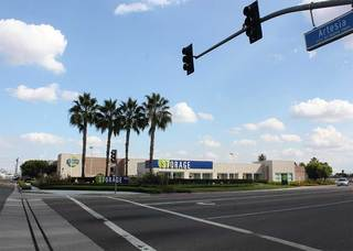 Self storage units buena park from the street