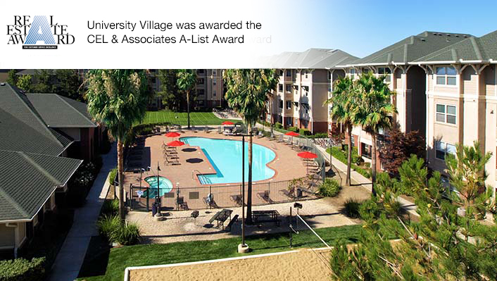 University village award winning community