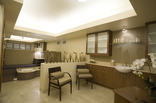 Spa room at vancouver senior living