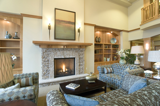 Spacious hearth at vancouver senior living