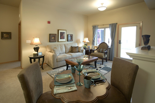 Vancouver senior living private dining area