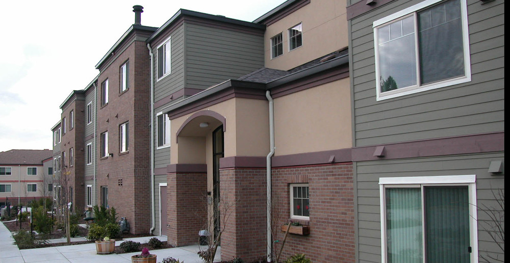 Puyallup apartment building